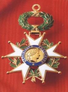 President et medaille la Légion d'Honneur